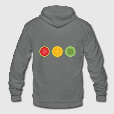 fruits - Unisex Fleece Zip Hoodie