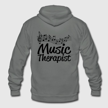 MUSIC THERAPIST - MUSIC THERAPIST - Unisex Fleece Zip Hoodie