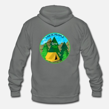 National I Love National Parks CONT - Unisex Fleece Zip Hoodie