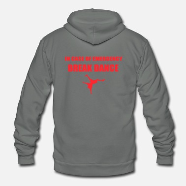 Break Dance BREAK DANCE - Unisex Fleece Zip Hoodie