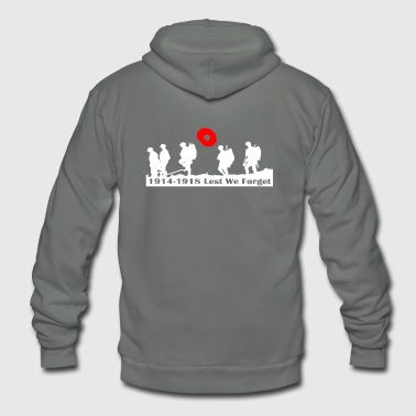 REMEMBRANCE DAY - Unisex Fleece Zip Hoodie