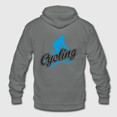Cycling - Cycling - Unisex Fleece Zip Hoodie