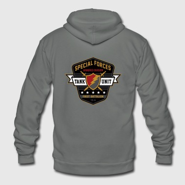 Special Forces armored division - Unisex Fleece Zip Hoodie