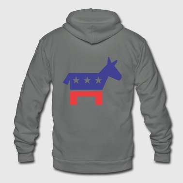 Democratic Party Democratic Party - Unisex Fleece Zip Hoodie