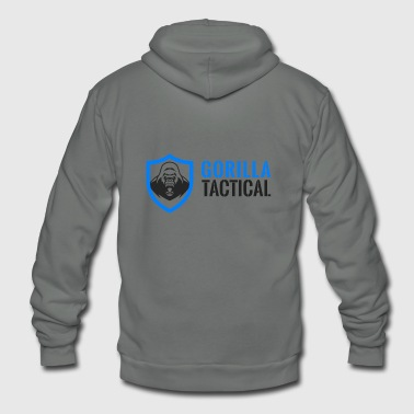 Gorilla Tactical - Unisex Fleece Zip Hoodie