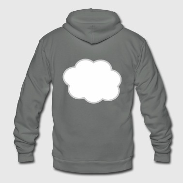 Clouds Cloud - Unisex Fleece Zip Hoodie