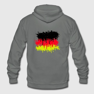 Germany Flag germany flag, germany, soccer - Unisex Fleece Zip Hoodie