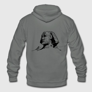 great sphinx - Unisex Fleece Zip Hoodie