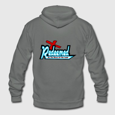 Redeemed - Unisex Fleece Zip Hoodie