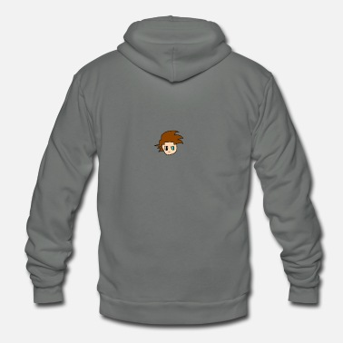 Tundra Animates Profile Picture - Unisex Fleece Zip Hoodie