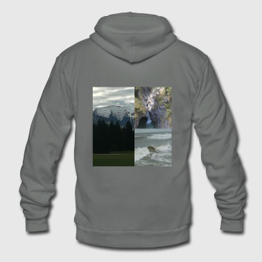 Landscapes - Unisex Fleece Zip Hoodie
