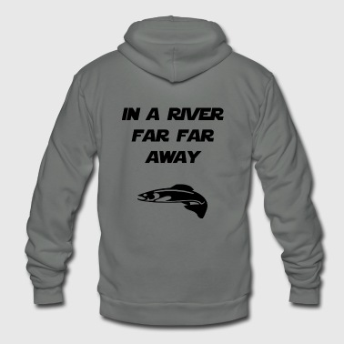 in a river far far away - Unisex Fleece Zip Hoodie