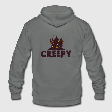 Creepy Creepy - Unisex Fleece Zip Hoodie