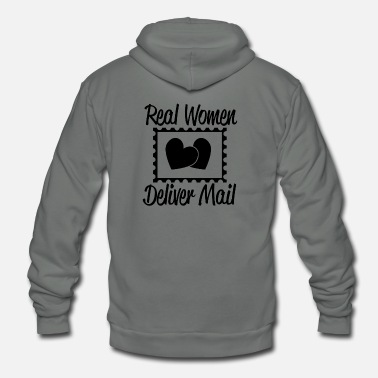 Serce deliver mail T Shirts - Unisex Fleece Zip Hoodie