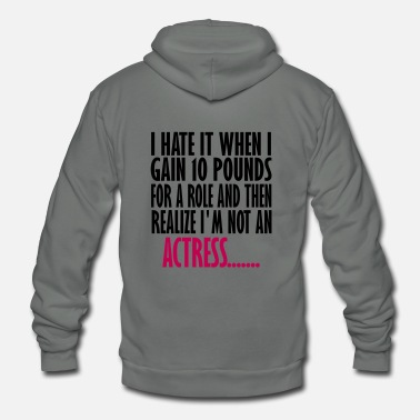 Actress actress - Unisex Fleece Zip Hoodie