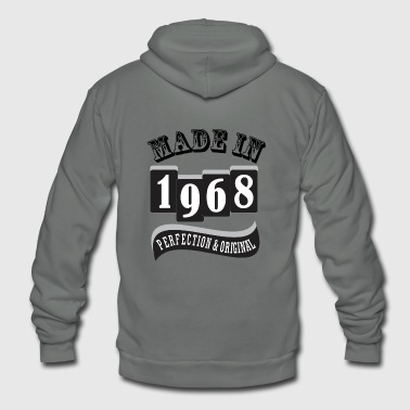 MADE IN 1968 SPECIAL - Unisex Fleece Zip Hoodie