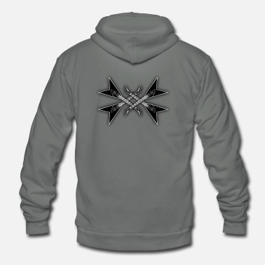 Metal Music metal music - Unisex Fleece Zip Hoodie