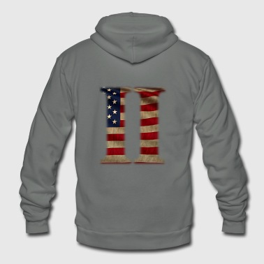 2nd Amendment - Unisex Fleece Zip Hoodie
