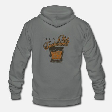 Old Fashioned Call Me Old Fashioned gift idea - Unisex Fleece Zip Hoodie