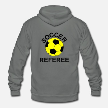 Referee Soccer Referee - Unisex Fleece Zip Hoodie