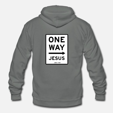 Christian Christian, There is none other name - Unisex Fleece Zip Hoodie