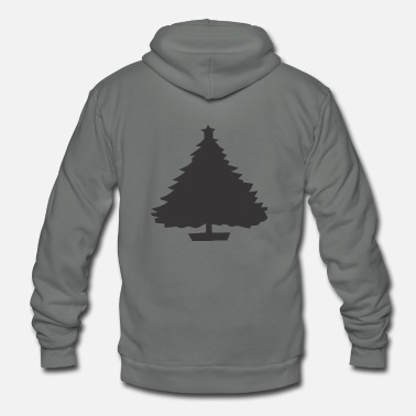 Tree Black Tree - Unisex Fleece Zip Hoodie