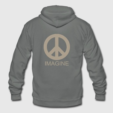 IMAGINE - Unisex Fleece Zip Hoodie