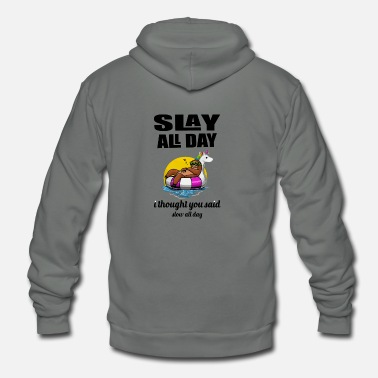 Day all day - Unisex Fleece Zip Hoodie