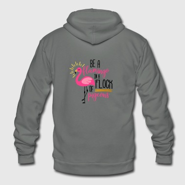 Flamenco Flamenco Flamingo - Unisex Fleece Zip Hoodie