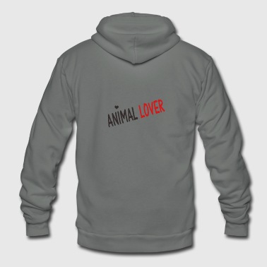 Animal Lover - Unisex Fleece Zip Hoodie