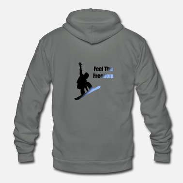 FeelTheFreedom - Unisex Fleece Zip Hoodie