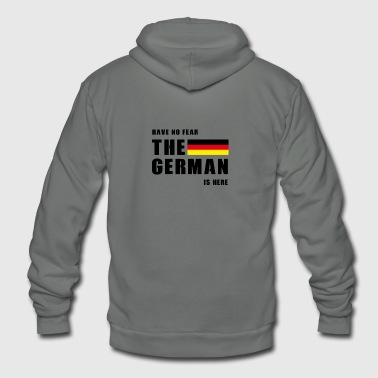 The German - Unisex Fleece Zip Hoodie