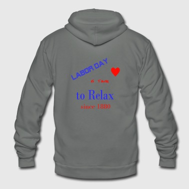 Labor day - Unisex Fleece Zip Hoodie