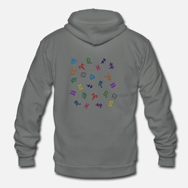 Astrology astrology - Unisex Fleece Zip Hoodie
