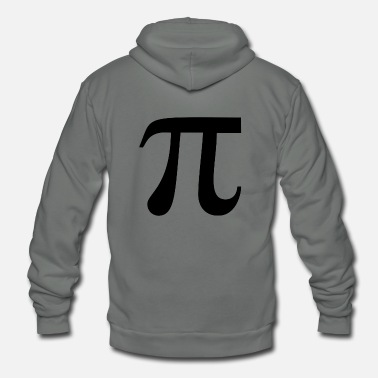Back To School - Pi - Unisex Fleece Zip Hoodie