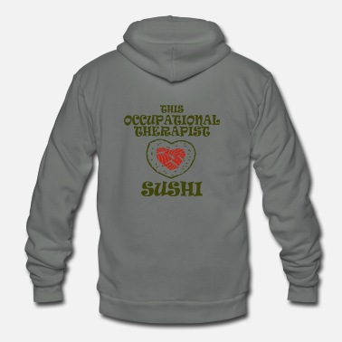 Occupation Occupational therapist - this occupational thera - Unisex Fleece Zip Hoodie