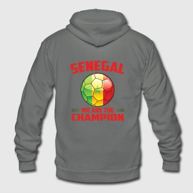 Senegal wins gift idea - Unisex Fleece Zip Hoodie