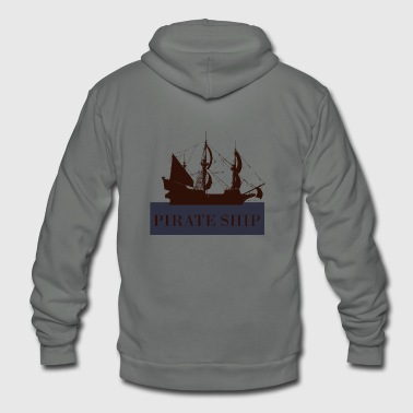 Pirate ship pirate ship - Unisex Fleece Zip Hoodie