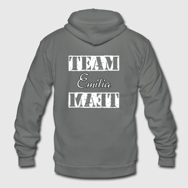 Team Emilia - Unisex Fleece Zip Hoodie