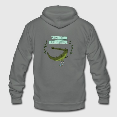crocodile - Unisex Fleece Zip Hoodie