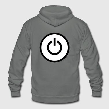 power - Unisex Fleece Zip Hoodie