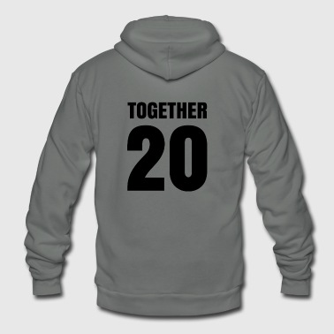 Together - Unisex Fleece Zip Hoodie