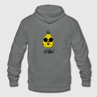 Crazy Chillin - Unisex Fleece Zip Hoodie