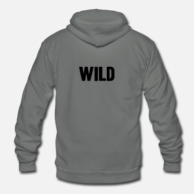 Wilderness Wild shirt energy wilderness - Unisex Fleece Zip Hoodie