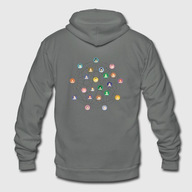 Network - Unisex Fleece Zip Hoodie