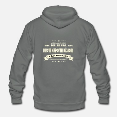 Ski Lift Original ski lift employee - Unisex Fleece Zip Hoodie