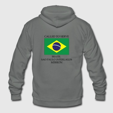 Brazil Sao Paulo Interlagos LDS Mission Called - Unisex Fleece Zip Hoodie