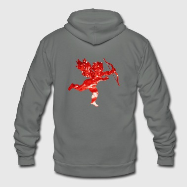 Cute Love Cupido Shirt Gift Idea for men and women - Unisex Fleece Zip Hoodie
