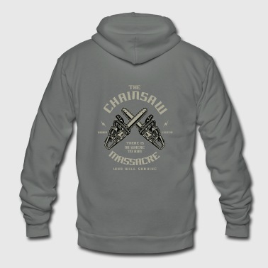 Chainsaw - Unisex Fleece Zip Hoodie