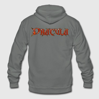 Count Dracula - The Ultimate Vampire - The Undead - Unisex Fleece Zip Hoodie